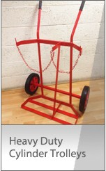 Heavy Duty Gas Cylinder Trolleys