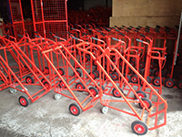 Red Cylinder Trolleys