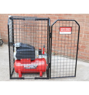 SMALL AIR COMPRESSOR CAGE