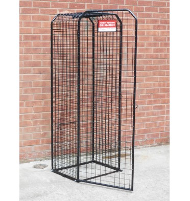 LARGE EXPANDING SECURITY CAGE