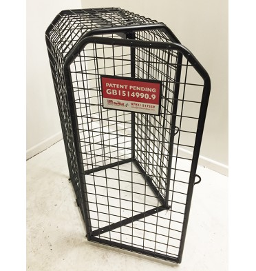SMALL EXPANDING SECURITY CAGE