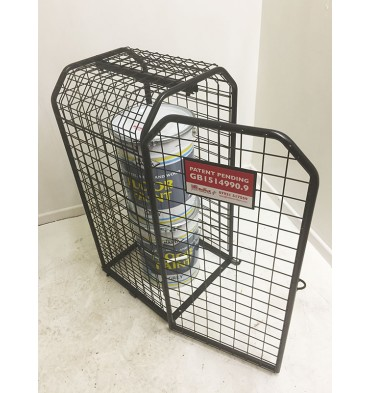 EXPANDING DISPLAY CAGE
