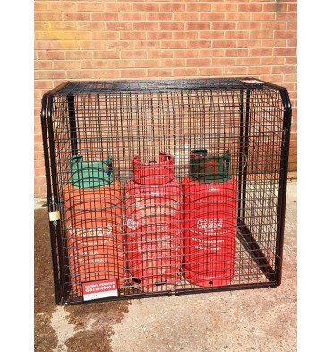 1 OR 12 X 19KG PROPANE CYLINDER EXPANDING CYLINDER CAGE
