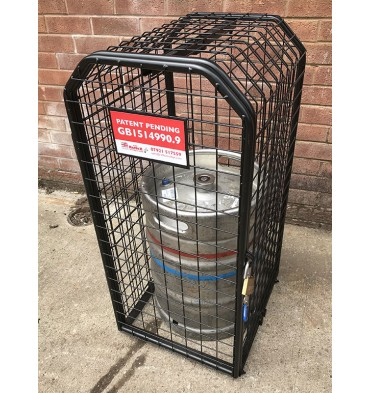 EXPANDING BEER KEG BEER BARREL CAGE SMALL