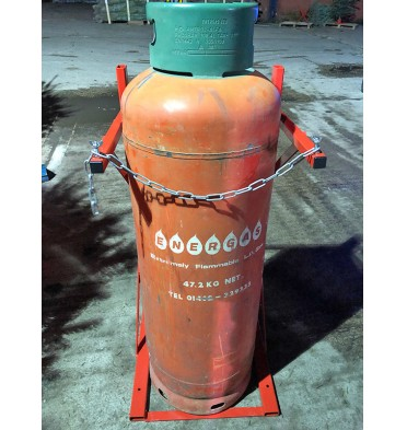 SINGLE PROPANE CYLINDER STAND 1 X CYLINDER