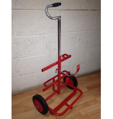 PORTABLE TROLLEY 2 X CYLINDERS