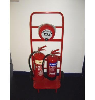 FORWARD FIRE TROLLEY 2 X EXTINGUISHERS