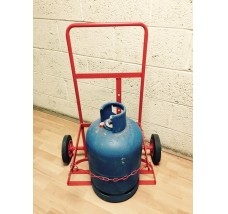 PORTABLE 13KG SINGLE TROLLEY 1X CYLINDER BUTANE OR PROPANE