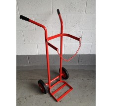 SINGLE GAS TROLLEY - 1X OXYGEN OR ACETYLENE
