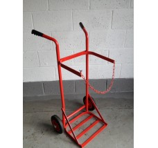 SINGLE GAS BOTTLE TROLLEY - 1X PROPANE