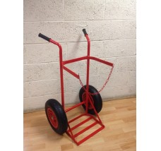 SINGLE PLUS GAS BOTTLE TROLLEY - 1X PROPANE
