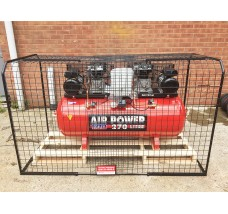 LARGE AIR COMPRESSOR CAGE