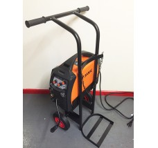 SINGLE CYLINDER WELDING INVERTER TROLLEY - 1X CO2 OR ACETYLENE