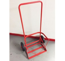 PORTABLE 19KG SINGLE TROLLEY 1X CYLINDER BUTANE OR PROPANE