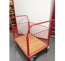 PLATFORM TROLLEY REMOVABLE SIDES - 300KG