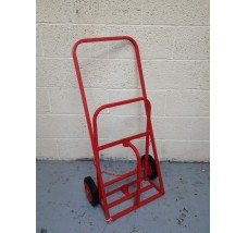 MIDI SUPERIOR GAS BOTTLE TROLLEY 2X OXYGEN OR ACETYLENE