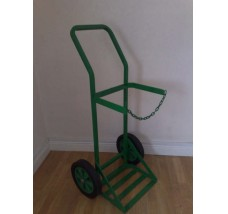 SUPERIOR GAS BOTTLE TROLLEY - 1X PROPANE (GREEN)