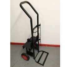 SINGLE CYLINDER WELDING INVERTER TROLLEY - 1X OXYGEN OR ACETYLENE