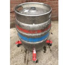 BEER KEG BEER BARREL SKATES 1 X CYLINDER