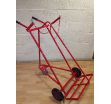 TWIN GAS BOTTLE TROLLEY - 2X OXYGEN OR ACETYLENE