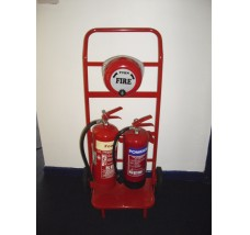 FORWARD FIRE TROLLEY 2 X EXTINGUISHERS