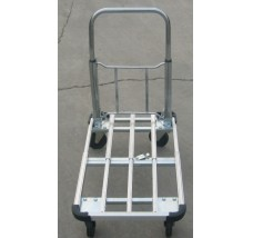 LIGHTWEIGHT FOLDING ALUMINIUM FLATBED TROLLEY - 100kg